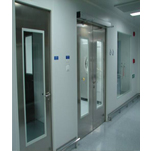 stainless steel anti-fingerprint open door