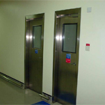 stainless steel side hung door